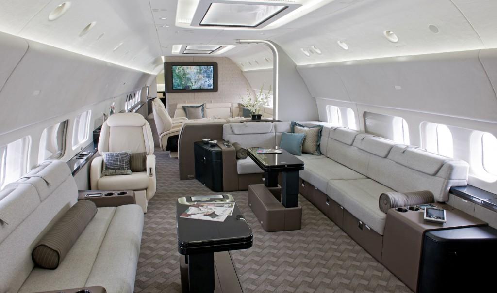 Jet Aircraft ~ Boeing BBJ 737-700 Interior