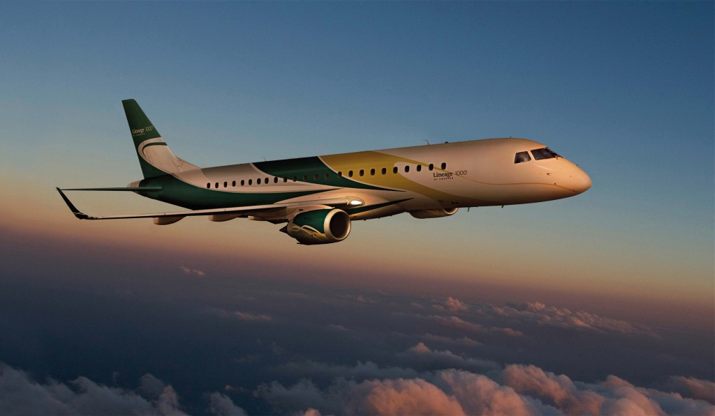 Jet Aircraft ~ Embraer Lineage 1000