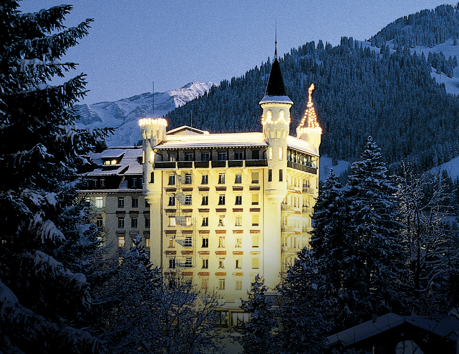 GSTAAD Palace Switzerland