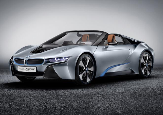 BMW-i8-Spyder North American Debut