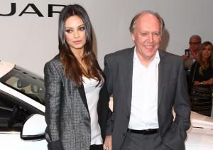 Actress Mila Kunis at The LA Auto Show