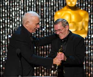 Hal Needham receives an Honorary Award at 2012 Governors Awards