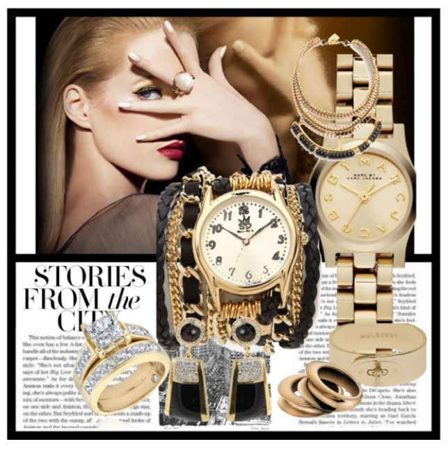 Gold Silver and Diamond Jewelry