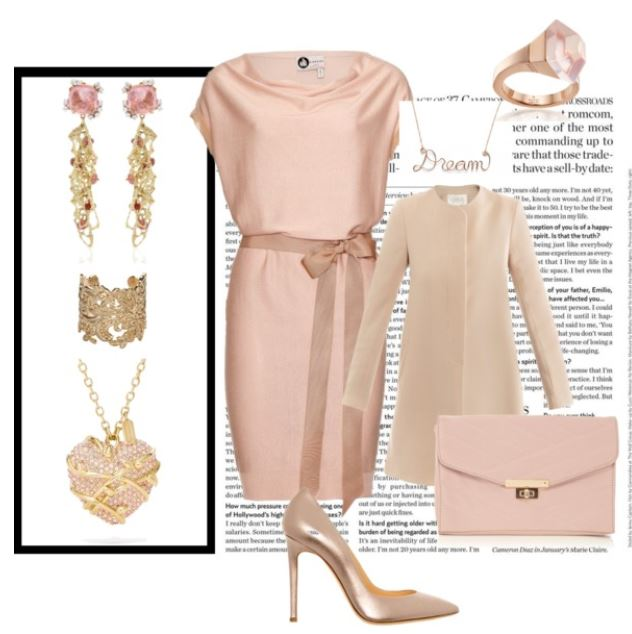 Golden Pink Style