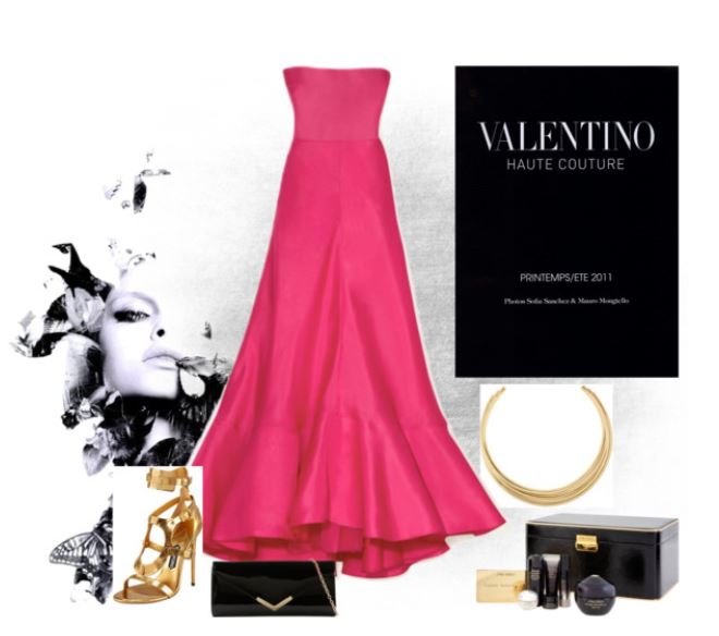 Red and Gold Formal Style