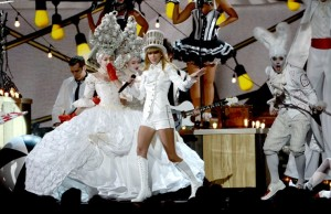 Taylor Swift performs on the 55th Annual GRAMMYS Awards on Feb. 10 in Los Angeles