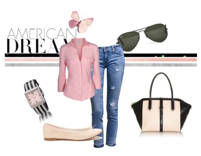 Casual Pink Style