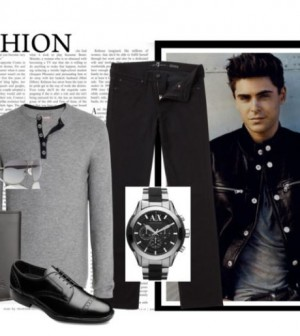 Style for Men Zac Efron