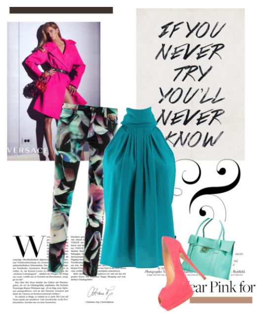 Classy Colorful Style