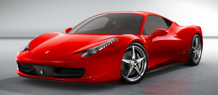 Dream Cars ~ Ferrari 458 Italia