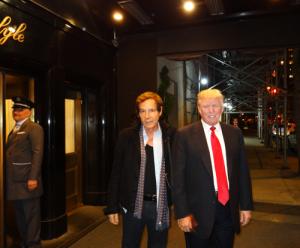 Donald Trump of The Apprentice on NBC
