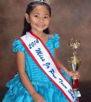 Ava Aquino ~ Ms. Jr Pre- Teen San Diego
