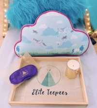 Best Sleepover Party For Kids with Elite Teepees #kids #parties #eliteteepees #rsfmag #ranchosantafemagazine