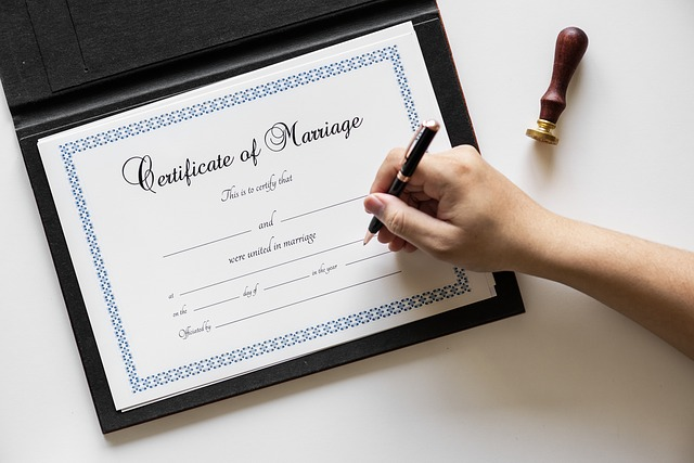 Rancho Santa Fe Magazine marriage certificate getting married marriage 1